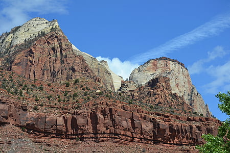 zion, zion national park, canyons, usa, rocks, mountain, famous Place