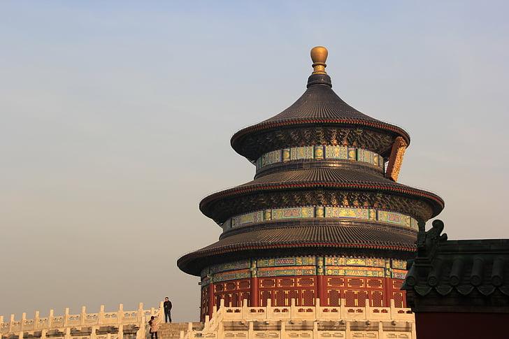Beijing, Świątynia nieba, spektakularne, Chiny, Architektura, Azja, słynne miejsca