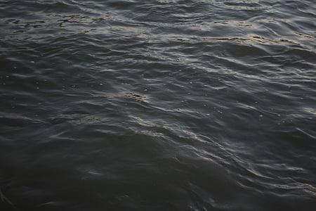 Close-up, cairan, riak, air