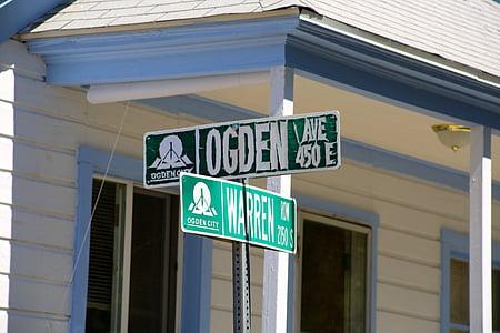 carrer, signe, Adreça, destinació, verd, Localització, Direcció