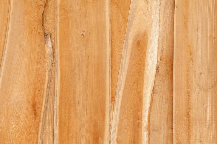 стена, дървен материал, Планк, кафяв, дървен материал, дървени, фон