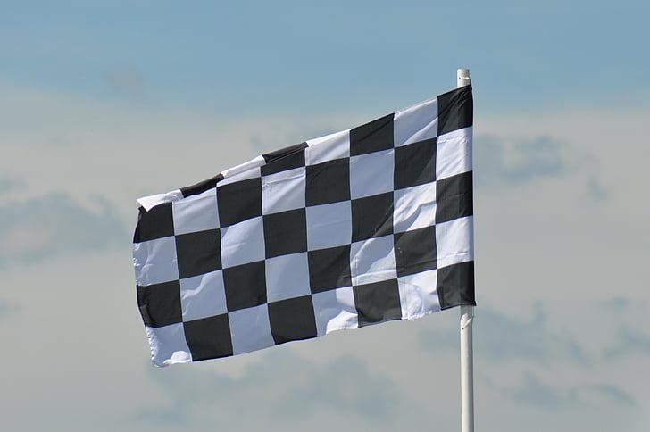 Bandera, carreres, Gran Premi, cotxe, Bandera de carreres, cursa, quadres