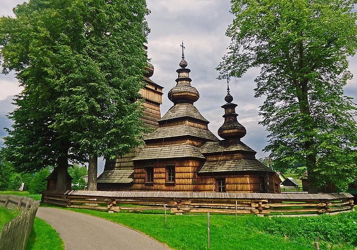 orthodox church, the greek catholic church, church of st nicholas, paraskewii, kwiatoń is a commune, kwiatoń church