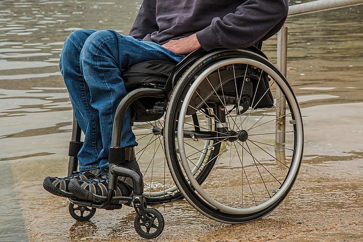 Rollstuhl, Behinderung, Paraplegiker, verletzt, deaktiviert, Behinderte, Handicap