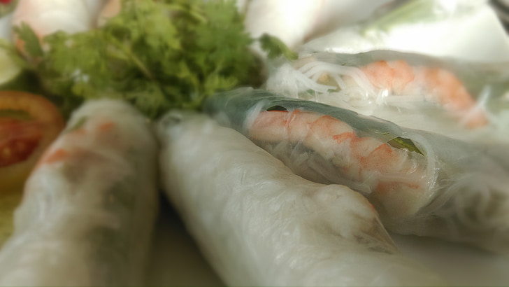 spring rolls, vietnamese, kitchen, rolls, cooking, asian, chinese
