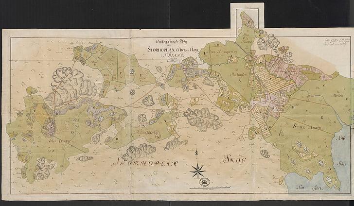 bản đồ, bản đồ cũ, Espoo