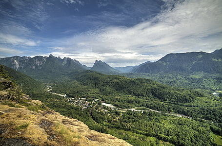 paisatge, Serra, muntanyes, natura, escèniques, arbres, muntanya