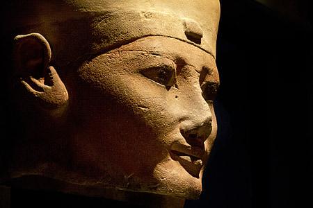Torino, egyptiska museet, antiken, skulptur, egyptiska statyer
