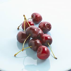 cseresznye, gyümölcsök, cseresznye, élelmiszer, gyümölcs, frissesség, érett