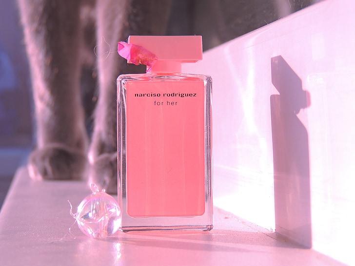 parfem, vodi, šape