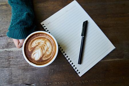 cafè, cafeïna, fotos, begudes, Copa, tassa de cafè, bon dia
