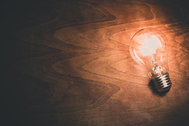 bec, bec, lumina, bec, energie, energie electrică, ideea de bec