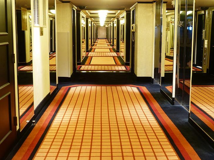 Hotel, sala, manera, Motel, Aquests, sala, vacances