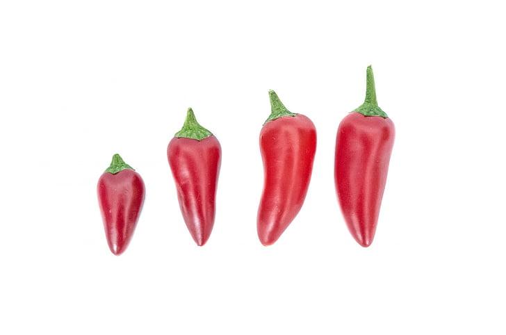 chili, Suurendus:, Cooking, toidu, soojuse, kuum, koostisosa
