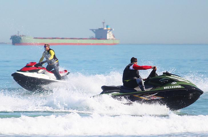 vízsugaras, Jet, motoros vízi sporteszköz, Motorsport, verseny, sebesség, szórakozás