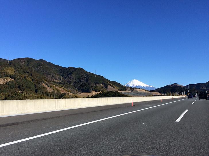 MT fuji, hög hastighet road, Road