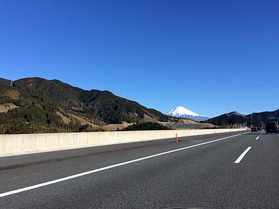 Mt fuji, carretera d'alta velocitat, carretera