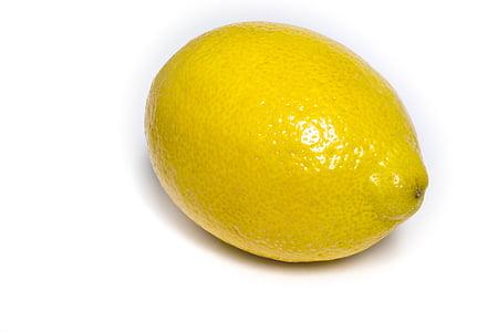 llimona, cítrics, fruita, groc, fresc, natural, ingredient