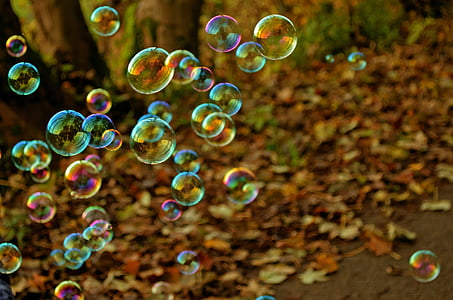 балон, забавно, цветове, играта, полет, светлина, фон
