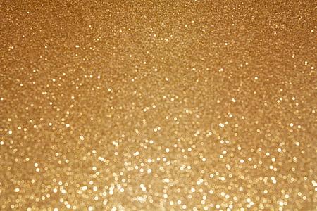 tausta, Glitter, kimaltelevaa tausta, Bokeh, epäselvä, epätarkka, kultaa