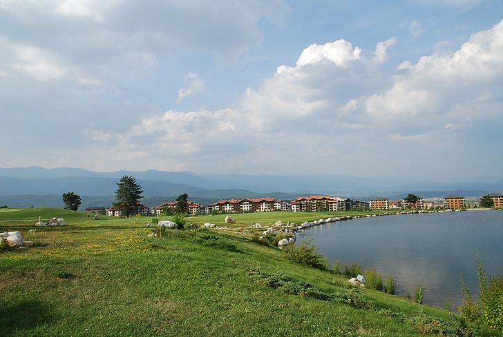 bulagria, pirin mountain, golf club, golfing, golf, golf course, green