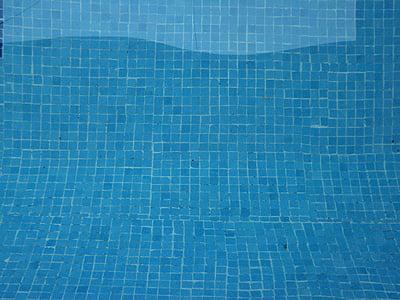 vesi, allas, sininen tausta, sininen, Poista, Puhdista, allas