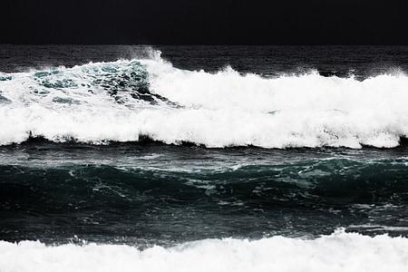 διάλειμμα, Ακτή, παράκτια, επικίνδυνες, κίνηση, φύση, Ωκεανός