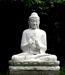 Buddha, socha, Buddhismus, Kamenná postava, náboženství, sochařství, Asie