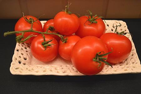 paradižnik, zelenjavo, kuhar, hrane, jesti, sestavine, prehrana
