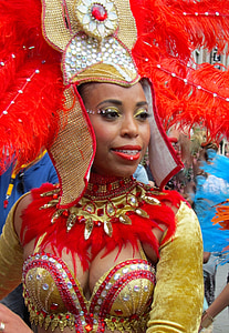 rotterdam, party, beautiful woman, sexy, attractive, parade, carnival