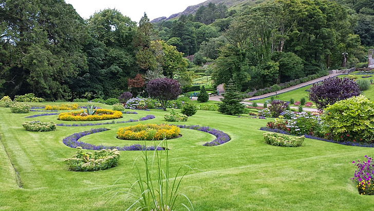 jardí, flors, plantes, herba, Prato, relaxar-se, tranquil·litat