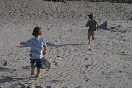 children, beach, sand, child, summer, holidays, childhood