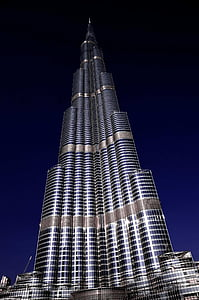Free Photo Architecture Building Burj Khalifa Dubai