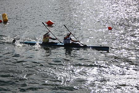 sport, canoeing, water, boot, leisure, water sports, kayak