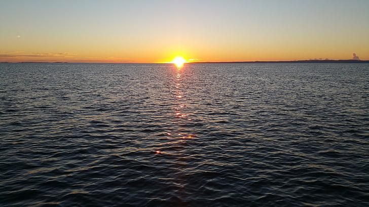 Alba, Mar, oceà, matí