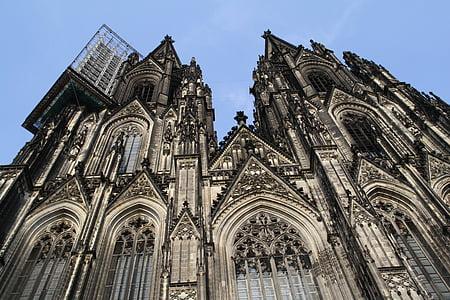 Nhà thờ Cologne cathedral, Dom, Giàn giáo, Cologne