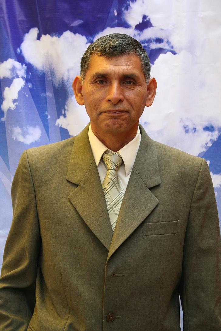 professor, male, the person, portrait, necktie, costume, official