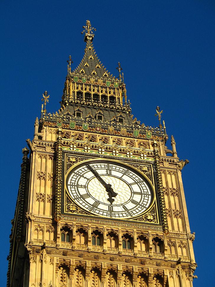 Lontoo, Big ben, kello, parlamentin