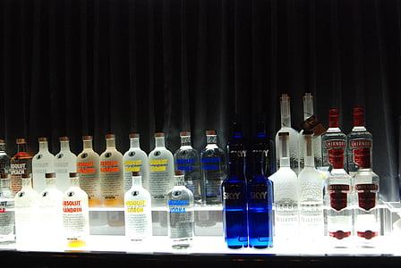 bar, vodka, alcohol, drinks, cocktail, drink, bottle