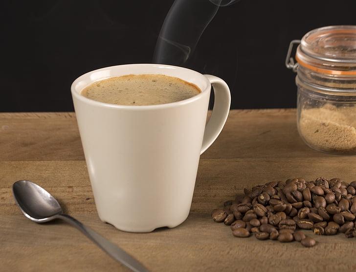 koffie, tijd, aroma 's