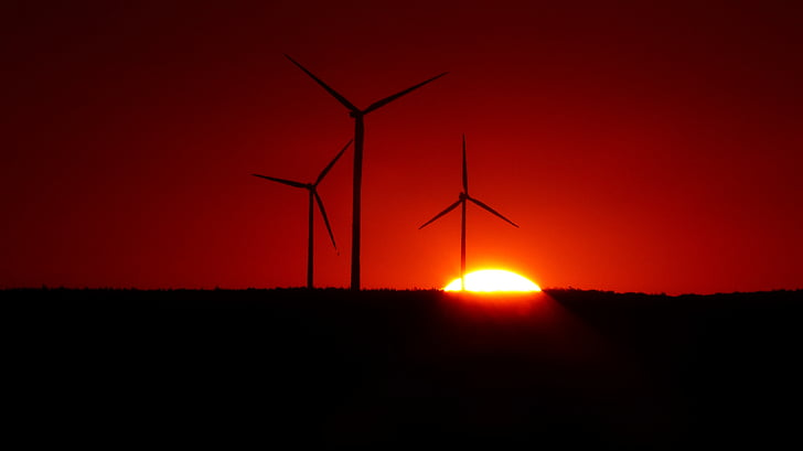 vēja enerģija, windräder, vēja enerģija, atjaunojamās enerģijas, enerģija, vides aizsardzības tehnoloģija, pašreizējais