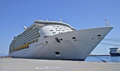 Mariner av haven, fartyg, Royal caribbean, Rhodos stad, Grekland, Ocean, turist