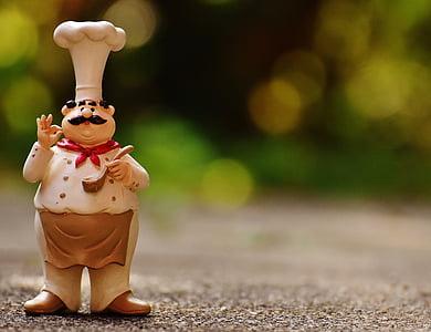 xefs, figures, divertit, cuinar, gastronomia, Restaurant
