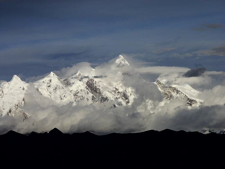 티베트, 린 즈, 스노우 마운틴