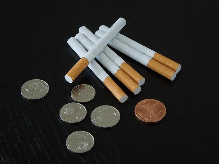 cigarret, Corona Txeca, cigarret global