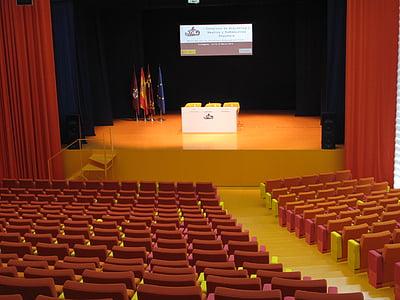 scenario, auditorium, congress, archeology, batel, cartagena, arqua