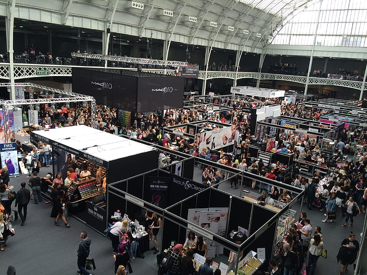 IMATS, London, Ausstellung, Messe, Make-up, Kosmetik, Handel