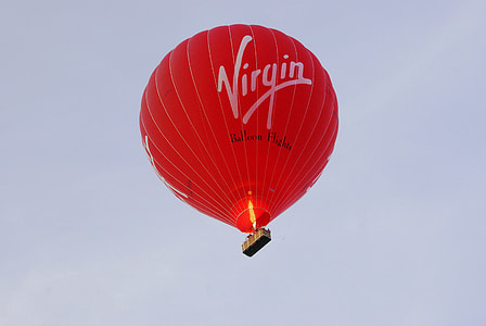 flyg, luft, ballong, heta, fluga, korg, Ballongflygning