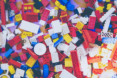 lego, play, build, module, colorful, number, many
