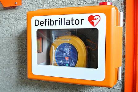 defibrilator, oživitev, slabo, srce, bolezni, medicinske, zdravnik